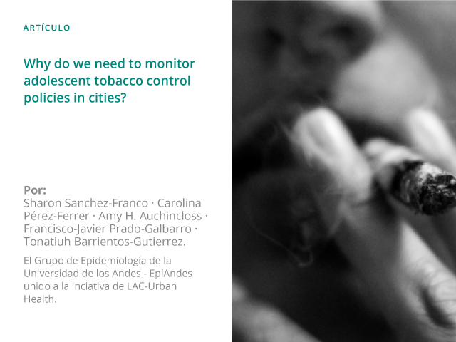 Why do we need to monitor adolescent tobacco control policies in cities?