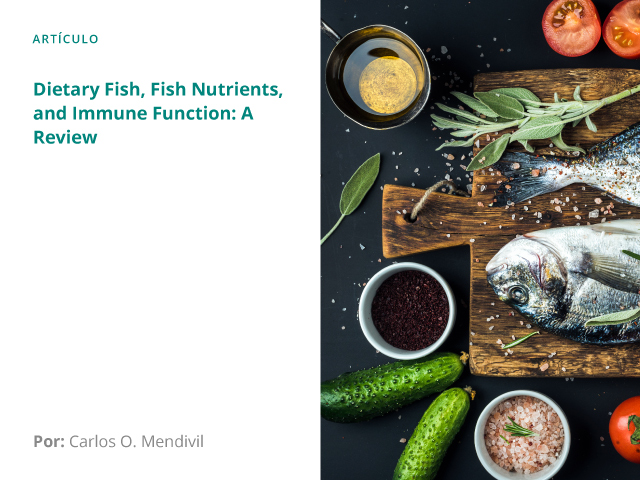 Dietary Fish, Fish Nutrients, and Immune Function: A Review