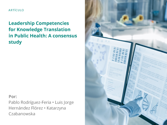 Leadership Competencies for Knowledge Translation in Public Health: A consensus study