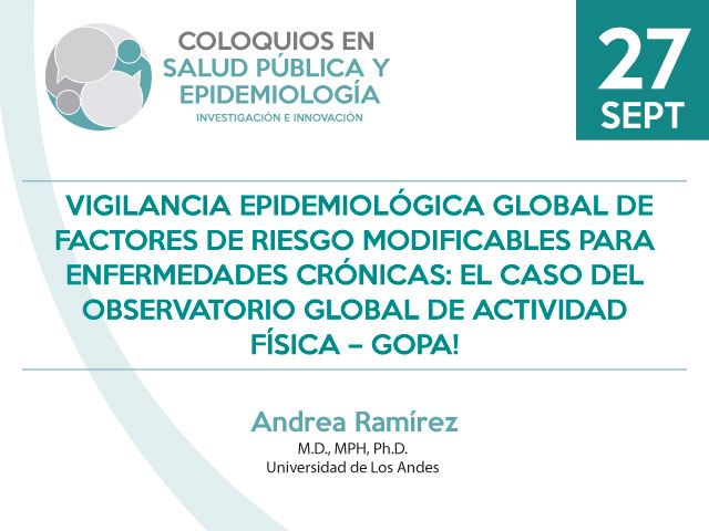 Vigilancia Epidemiológica Global de factores de riesgo modificables para enfermedades crónicas
