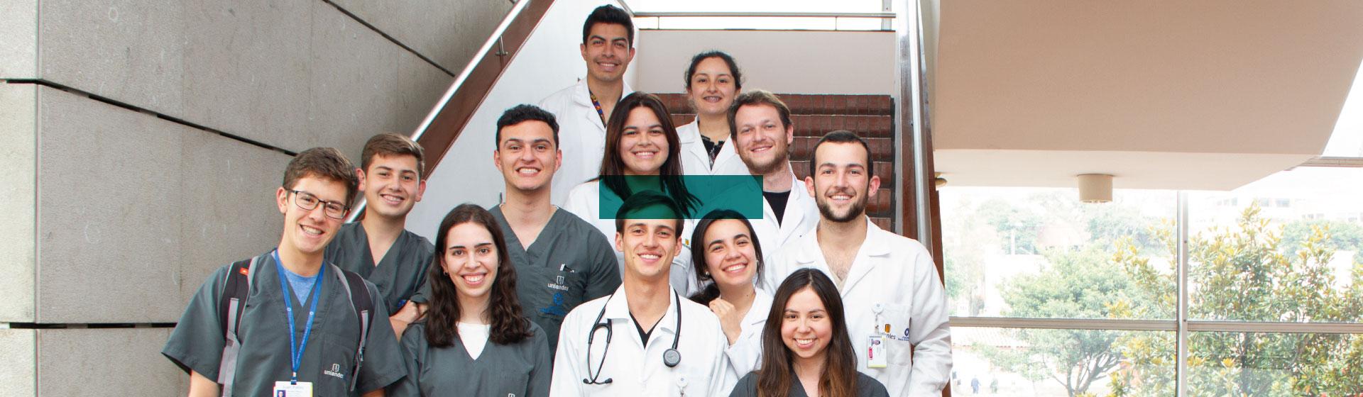 Estudiantes de facultad de medicina