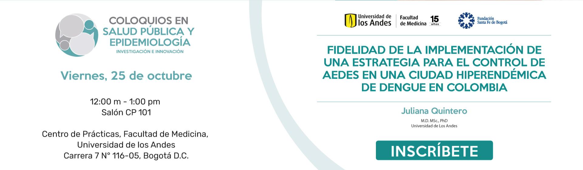 Fidelidad de la implementación de una estrategia para el control de Aedes