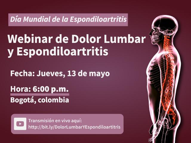Webinar de Dolor Lumbar y Espondiloartritis