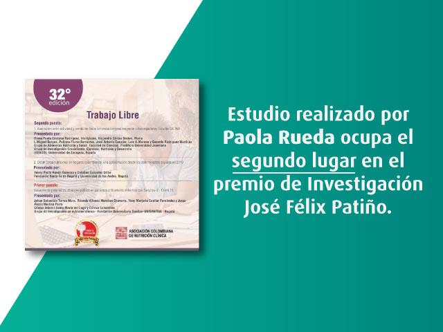 Premio de Investigación José Félix Patiño