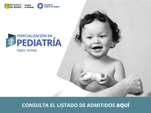 Admitidos al programa de Pediatría 2021-20