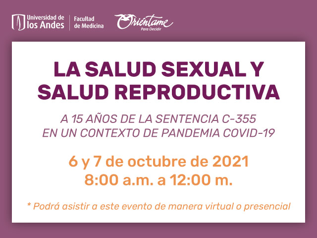 la salud sexual y la salud reproductiva