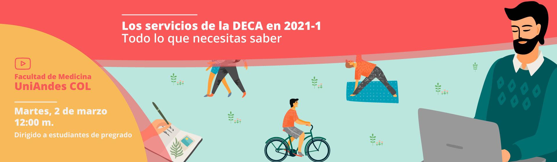 Servicios de la DECA en 2021-1... Todo lo que necesitas saber