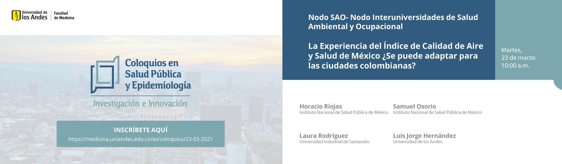 Nodo SAO- Nodo Interuniversidades de Salud Ambiental y Ocupacional