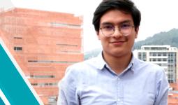 Estudiante Diego Chamorro