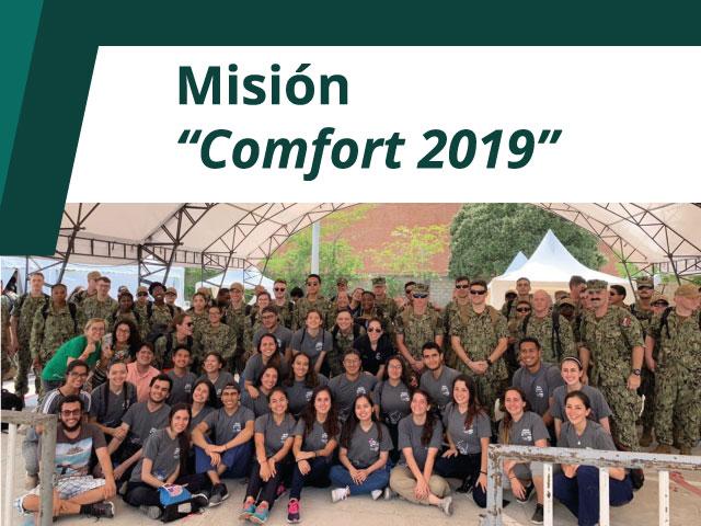 Misión Comfort 2019