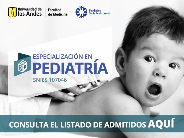 Admitidos Pediatría 202010