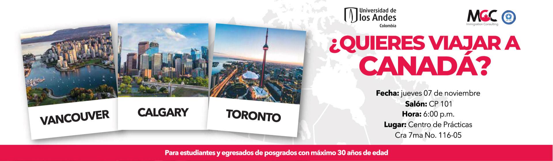 Viajar a Canadá