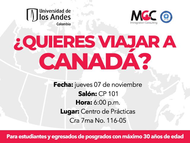 ¿Quieres viajar a Canadá?