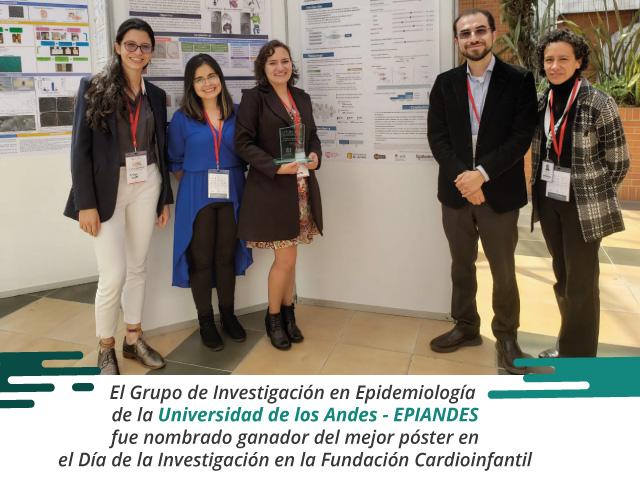 EPIANDES - Ganadores de premio de investigación a mejor poster