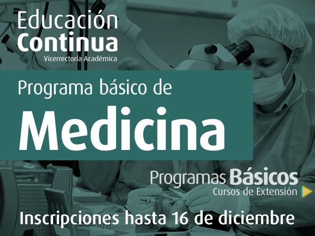 Programa básico de Medicina