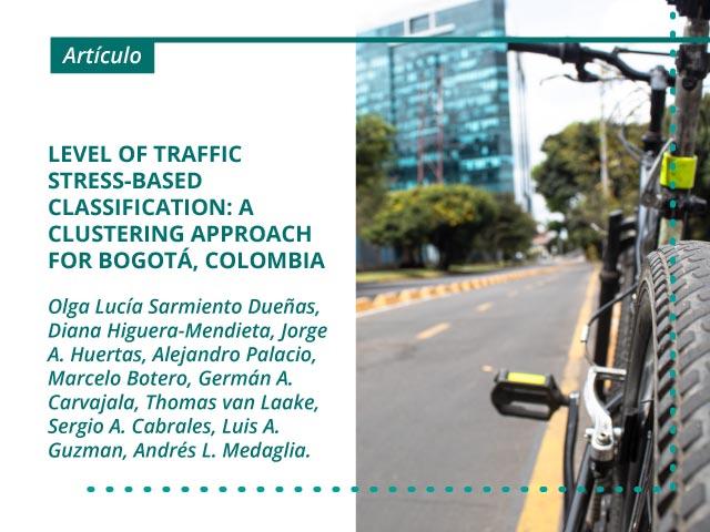 Level of traffic stress-based classification