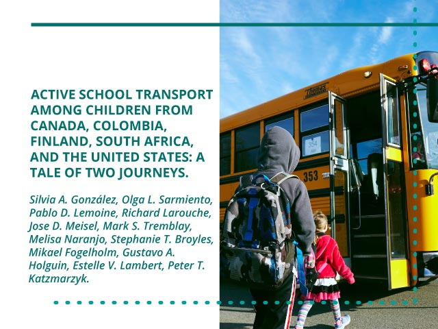 Active School Transport among Children from Canada, Colombia, Finland, South Africa, and the United States: A Tale of Two Journeys