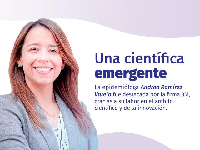 Una científica emergente