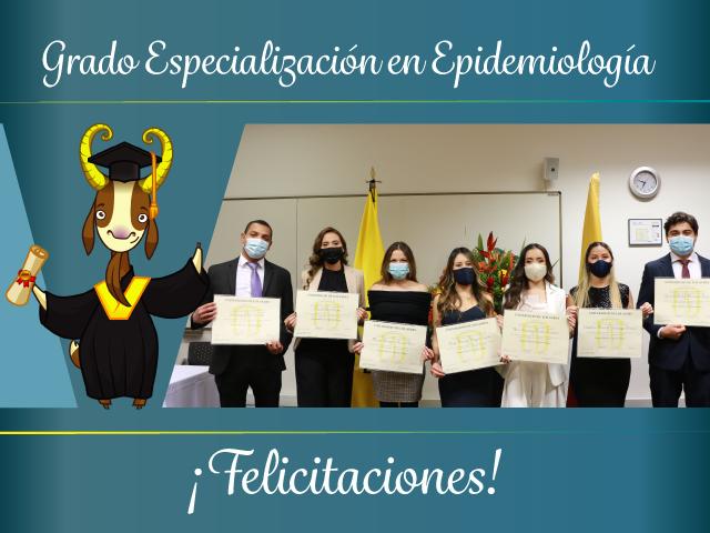 Grados Especialización de Epidemiología.