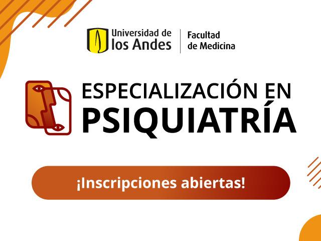 Inscripciones abiertas Especialización en Psiquiatría